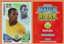 Brazil Robinho Santos 253 Man of the Match